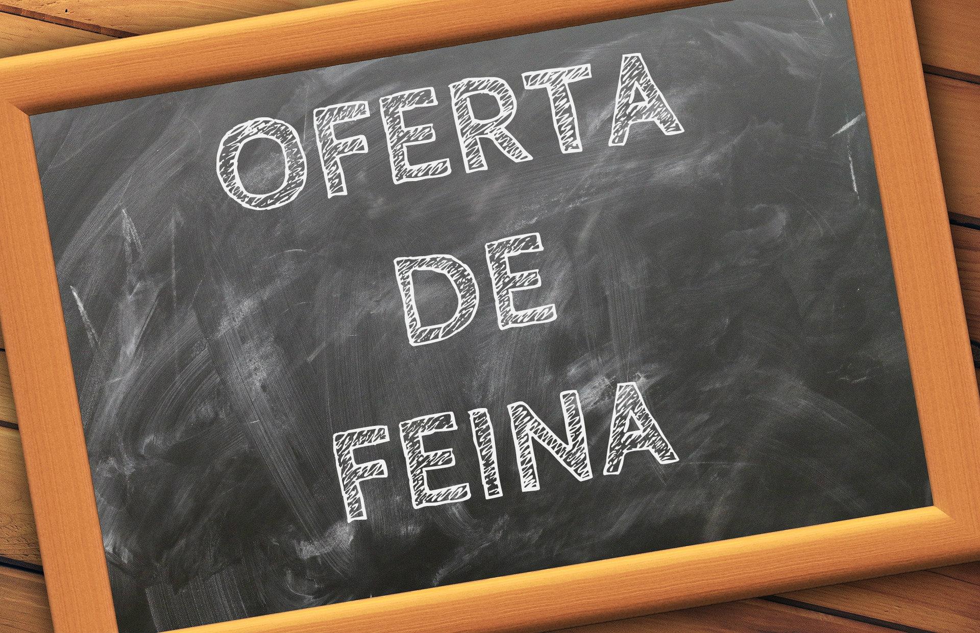 Oferta de feina Fundació Portolà