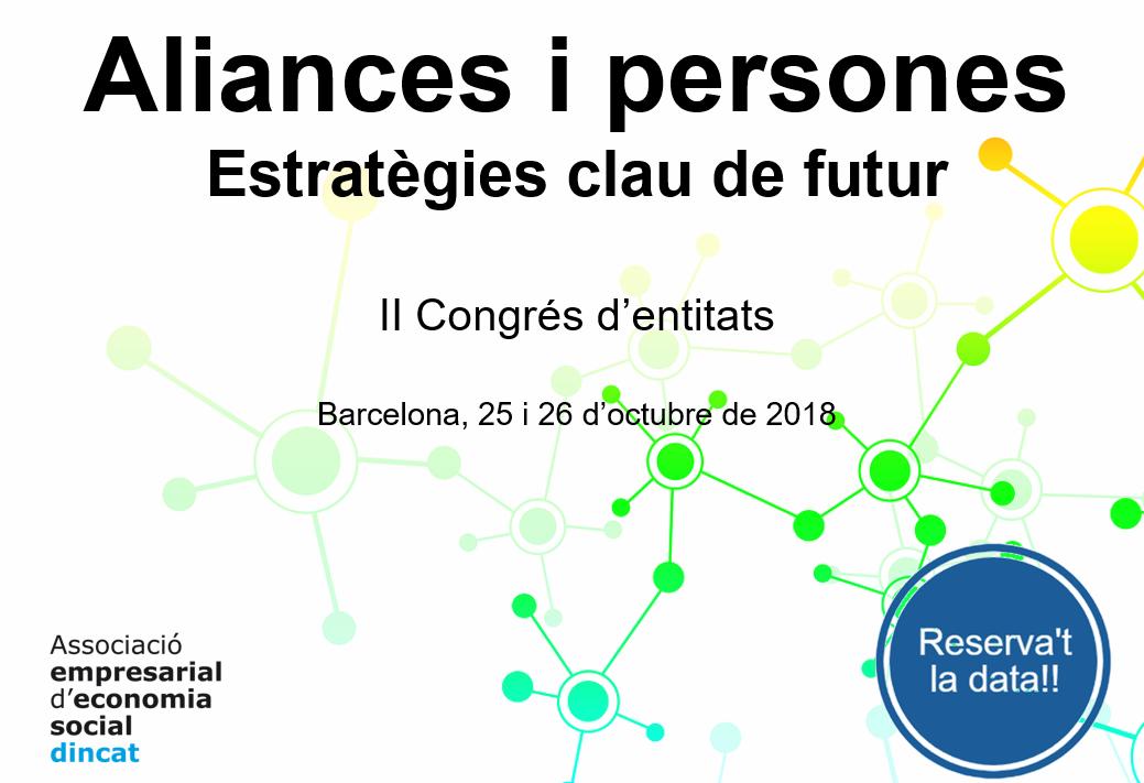 II Congrés d'entitats de l'AEES Dincat | Aliances i persones. Estratègies clau de futur