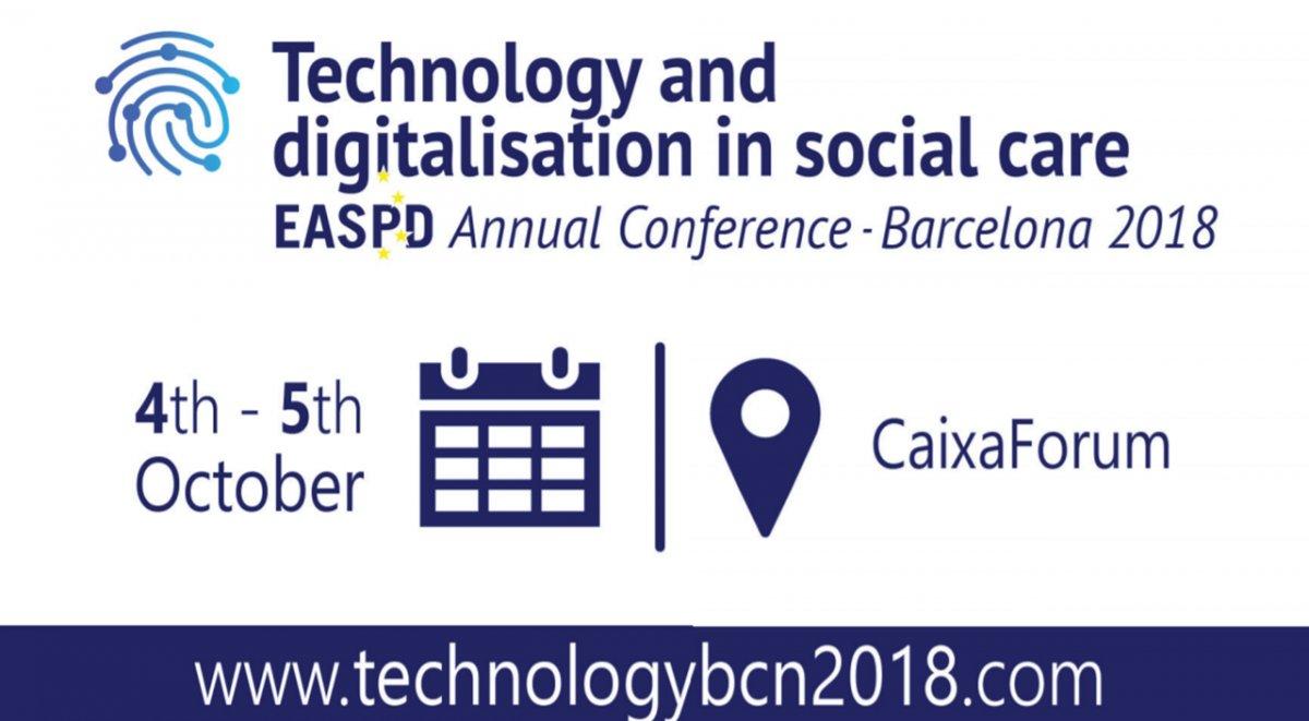 Jornada sobre tecnologia i digitalització en els serveis de suport i atenció a les persones